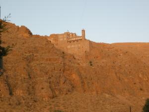 Deir Mar Musa al-Abashi nel deserto della Siria