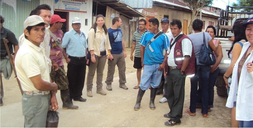 I Leader delle comunità contadine di Barranquita