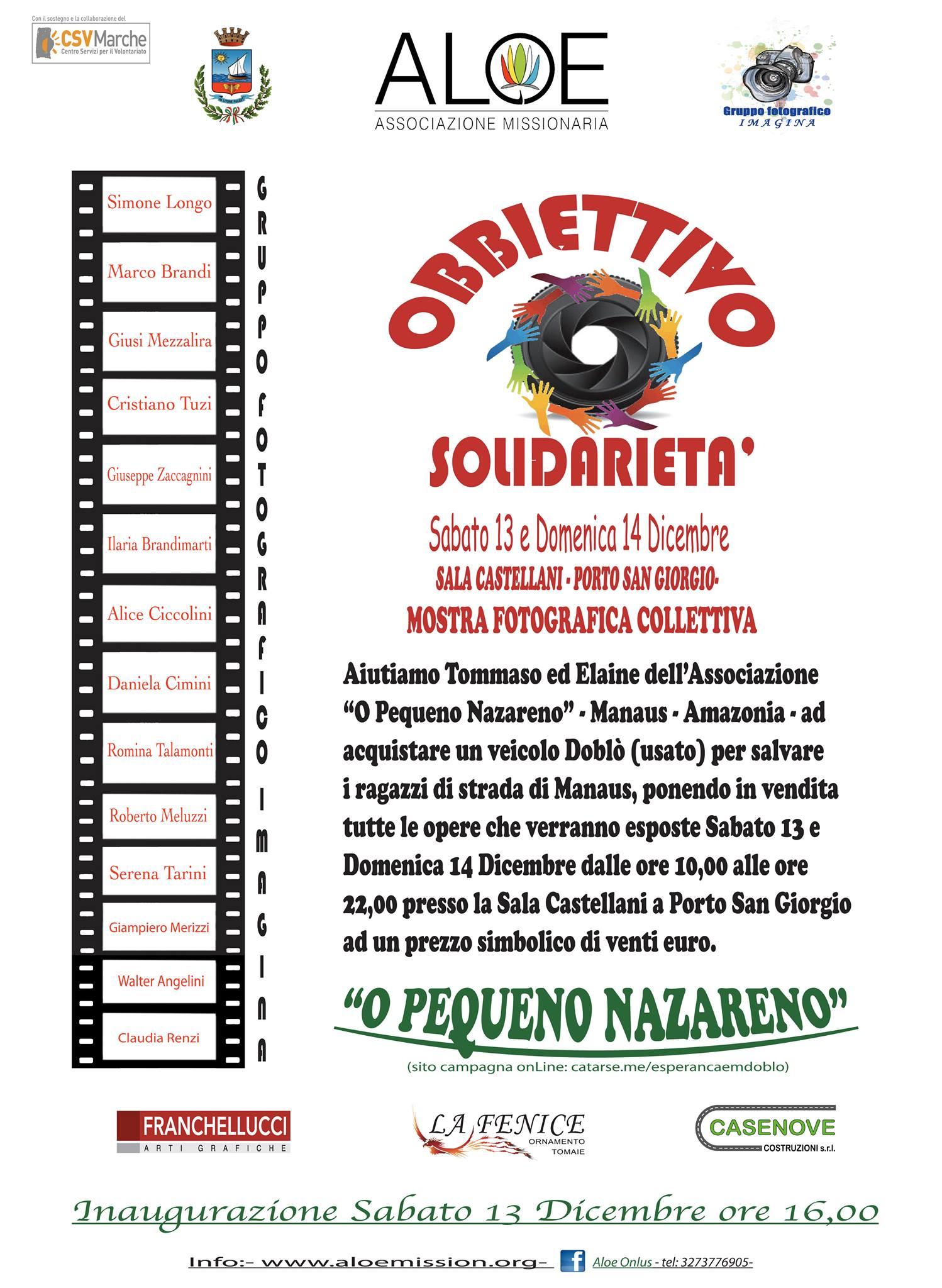 obbiettivo solidarietà 2014